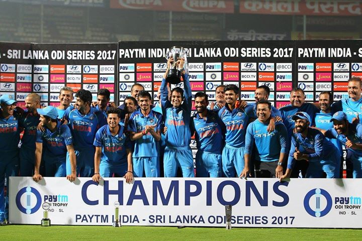 FB 1834 -  And INDIA wins the Champions Cricket from Sri Lanka .. a most convincing victory .. CONGRATULATIONS INDIA  .. and Shikhar you were outstanding .. 🇮🇳🇮🇳🙏🙏🌹🌹