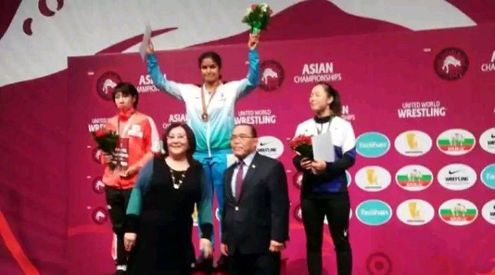 FB 1931 - #NavjotKaur .. first Indian Woman to win a Gold at the Asian Wrestling Championships .  .. proud to be an Indian .. congratulations .. India Booming ... 🇮🇳️🇮🇳️🇮🇳️🇮🇳️🇮🇳️🇮🇳️🇮🇳️🇮🇳️🇮🇳️