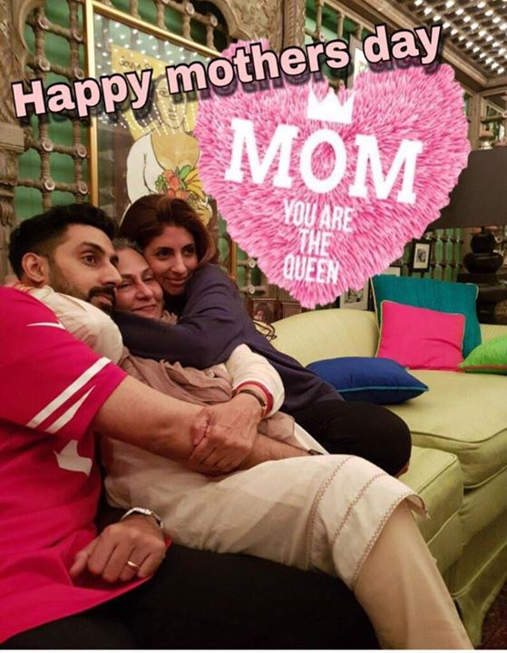 FB 2003 -  There is nothing stronger than the bond a parent shares with his/her child ! We celebrate precisely that in #102NotOut .. join us specially today with your Mother's to see what parental love is all about ! #HappyMothersDay