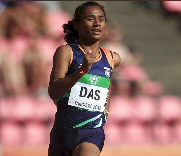 FB 2065 - - CONGRATULATIONS .. #HimaDas , the first Indian Women to win a GOLD in World Athletic track event EVER ! INDIA is proud of you .. you have given us reason to hold up our heads HIGH ! JAI HIND !! 🇮🇳🇮🇳