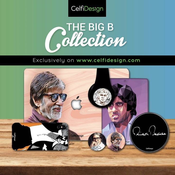 FB 2231 -  Its gratifying to have an exclusive accessories collection designed around you, thank you @celfidesign for honouring my name, the BigB range of merchandise available at celfidesign.com is a treat for my fans.