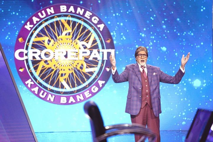 FB 2439 -  .. it has begun .. among the fun .. the run .. for that ton .. 🤣 ..  KBC  11 th season .. 19 years of initiation .. !!