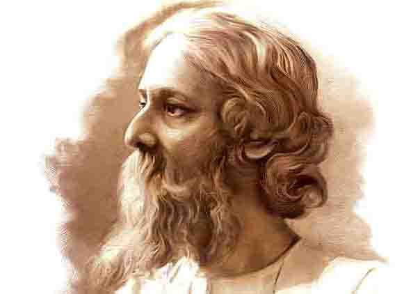 FB 2724 -  Greetings on this day the Birth Anniversary of Gurudev RabindraNath Tagore  ..  Poet, writer, philosopher , creator of educational institutions , of eminence .. writer of the National Anthem  .. शत शत नमन 🙏🙏🙏🙏🙏