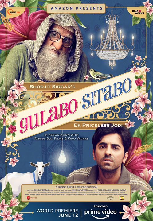 FB 2731 - I joined the Film Industry in 1969 .. in 2020 .. its 51 years  !! .. during this formidable period seen many changes and challenges .. NOW another CHALLENGE ..  DIGITAL RELEASE of my film GULABO SITABO !! June 12 , only on Amazon Prime .. in approx 200+ country's .. THAT IS AMAZING !   Honoured to be a part of yet another change .. and a challenge !!