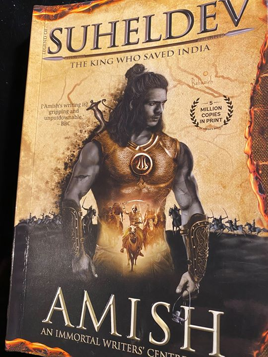FB 2776 -  Amish ... the irrepressible  @authoramish  .. brings  out his new fresh work ..