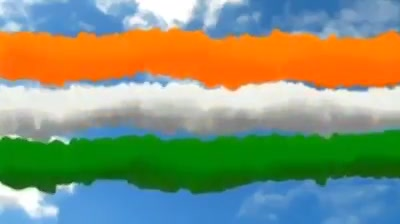 FB 2621 - My pride , my Nation , my Republic Day .. The National Anthem with children differently challenged - some without hearing and speech .. I am honoured and privileged to be with them ..  Jai Hind