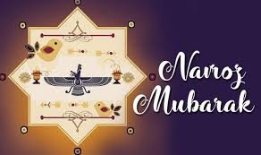 T 3260 - Happy Parsi New Year ..  Navroz Mubarak ..💞🙏🌹🌹🌹☘️🌿🙏💕💕 https://t.co/FveWBRY5nw