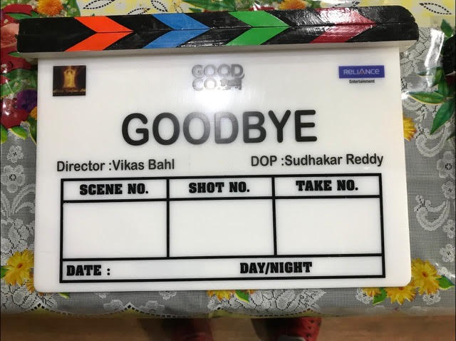 T 3862 -Excited to begin this new journey!   Film Mahurat #Goodbye  @ektarkapoor #ShobhaKapoor @RuchikaaKapoor @Shibasishsarkar #VikasBahl @iamRashmika @RelianceEnt #TheGoodCompany #BalajiMotionPictures https://t.co/RmMrJn63xH